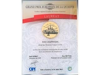 Grand Prix European De La Qualite, 2015.