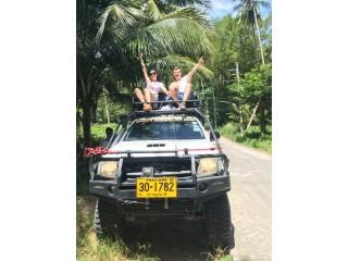 Ride through the jungle