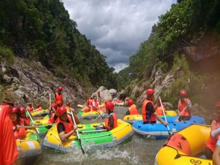 Happiness River Rafting!