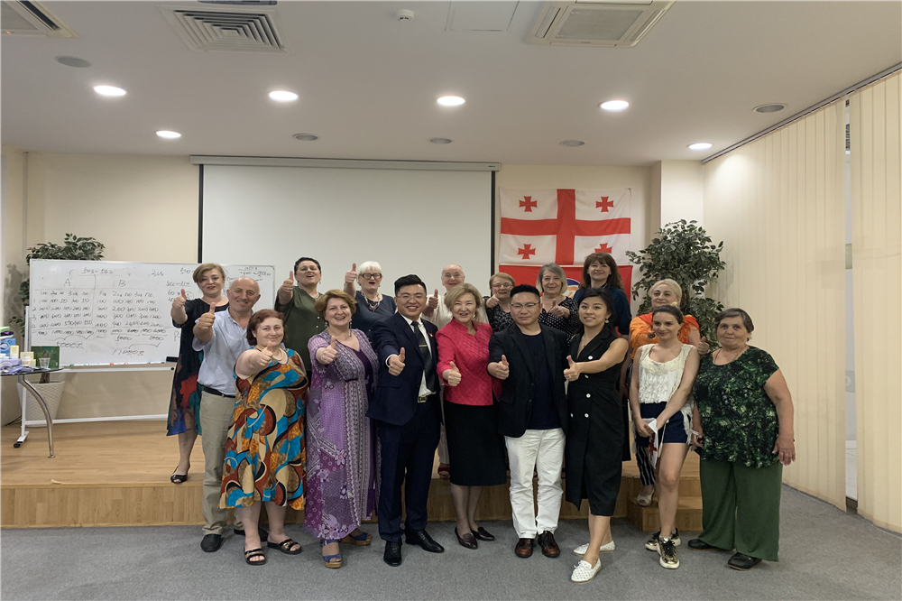 The first conference in Georgian branch was really successful!