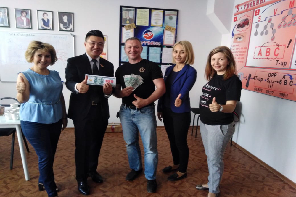 Meeting partners with Mr. Liang Naiguo in Sterlitamak
