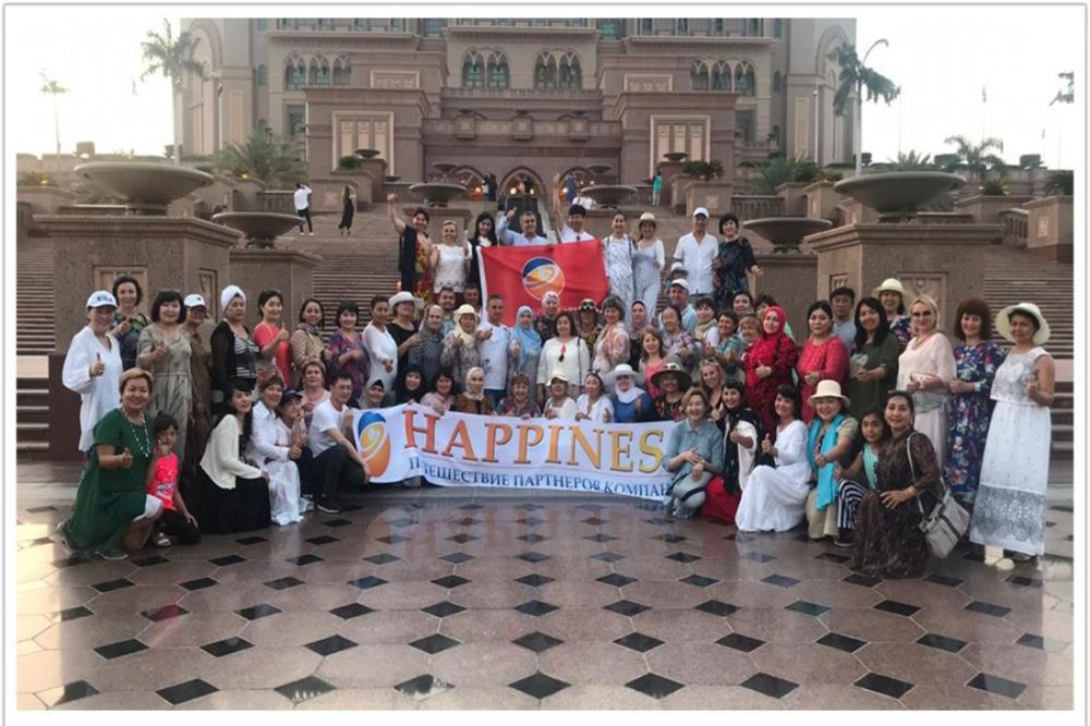 Путешествие в Дубай вместе с Happiness!